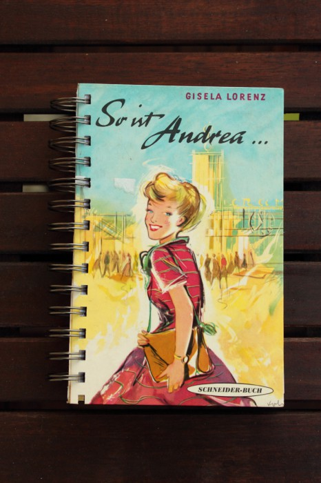 Notizbuch Andrea