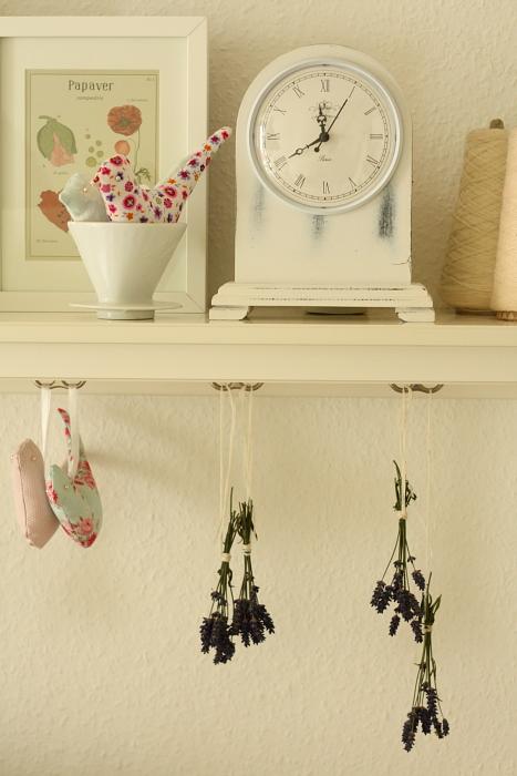 Lavendel aufgehängt